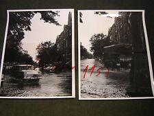 Berlin-2 Pressefoto/Privatfoto Hochwasser in Berlins Straßen aus den 1960.Jahren