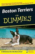 Boston Terriers For Dummies-ExLibrary
