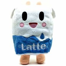 Tokidoki Latte Milk Carton Plush Doll Fabric Stuffed Toy Moofia Cow TKDK Genuine