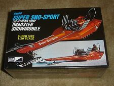 MPC Rupp Super Sno-Sport World's First Dragster Snowmobile 1/20 scale  SEALED