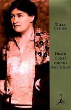 Death Comes For the Archbishop Willa Cather Modern Library 75 Random House HCwDJ