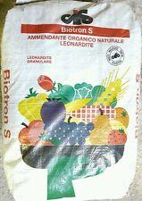 AMMENDANTE CONCIME SOSTANZA ORGANICA  LEONARDITE BIOTRON S CIFO 30 KG.