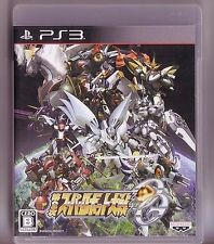 Used PS3 Super Robot Wars OG 2nd 2 Taisen Import Japan、