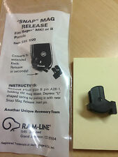 Ramline Snap Magazine Release for Ruger Mark I and Mark II 22 auto pistols NEW
