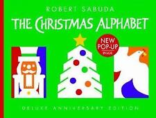 THE CHRISTMAS ALPHABET by Robert Sabuda, Pop-up Book Deluxe Anniversary Edition