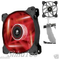 Cool Corsair Air Series AF120 LED Quiet Edition High Airflow Fan Red Color LED