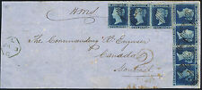 1841 2d Blue Pl 4 TD-TI and HB Chatham to Montreal Canada HMS charged 2