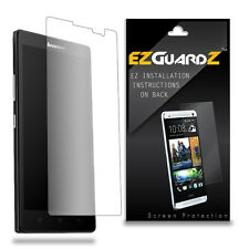 4X EZguardz LCD Screen Protector Skin Cover Shield HD 4X For Lenovo K80 (Clear)