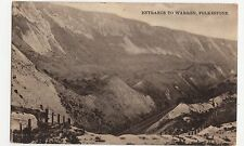 Folkestone, Entrance to Warren Postcard, A702
