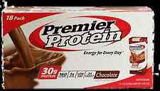 Premier Nutrition 18 pack Ready Drink 30 gram High Protein Shake Chocolate 11 oz