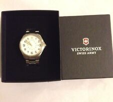 Victorinox Swiss Army Infantry Vintage Men's Steel bracelet Swiss watch 241293