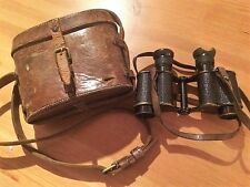 1st World War British Army Officers Binoculars & Case! Named!