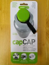 Humangear capCAP Water bottle Cap for Nalgene, Camelbak wide mouth -  Green