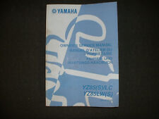 2004 Yamaha YZ85(S)/LC, YZ85LW(S) - Factory Service Manual
