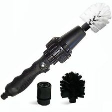 Brush Hero Wheel Brush Premium Water-Powered Turbine for Rims Engines Bikes