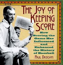 The Joy of Keeping Score: How Scoring the Game Has Influenced and Enhanced the H