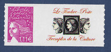"FRANCE  N° 3729D ** MNH, PERSONNALISE ""Culture"" ADHESIF, TB"
