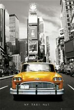 TRAVEL POSTER New York Taxi