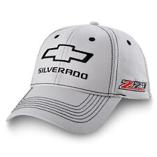 Chevrolet Chevy Silverado Z71 Gray Cotton Licensed Hat
