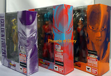 Bandai S.H Figuarts Dragonball Z Vegetto, SS God Son Goku, Golden Frieza