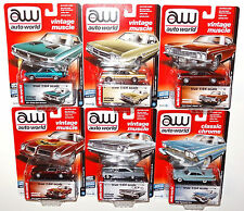 AUTO WORLD 2016 PREMIUM 5D 6-CAR SET 64042 VERSION D LIMITED EDITION 1 OF 1836