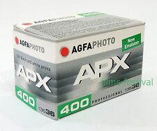 3 rolls AGFA APX 400 35mm 36exp Black and White Film 135-36 BW FREESHIP