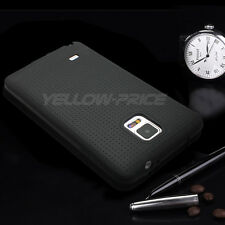 Galaxy Note 4 case [Black] Slim Fit Shock Absorbent Cover [Drop Protection] Film