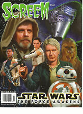 SCREEM  STAR WARS THE FORCE AWAKENS   ISSUE, 2015    # 31