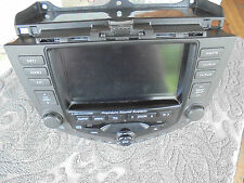 03-07 Honda Accord Sat Nav Display / 6 Disc CD Player / Climate Control Unit