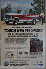 1980 FORD F150 pickup advertisement, Ford F150 Pick-up truck