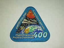 NASA Concept 10 Flight Goddard Center 400 Flight Programs Projects Iron On Patch