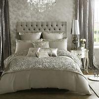 Kylie Minogue Bedding Range ALEXA Silver Grey - Duvet / Quilt, Cushion or Runner