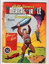 Bill barnes America's Air Ace Comics    4     Fantastic War Era Cover