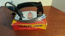 Vintage Excello No. 629 Travel Iron w/ Torii Cord (2I4)(MC)