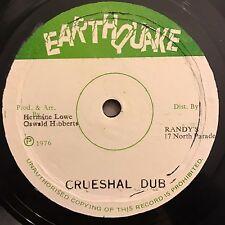 Ossie Hibbert - Crueshal Dub - Earthquake LP 33T 1976 Rare Dub Reggae Mint ♫