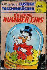Walt Disneys LTB Nr. 105 - Ich Bin Die Nummer Eins von 1985
