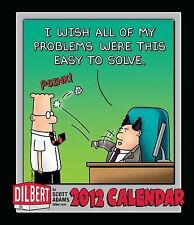 Dilbert: 2012 Weekly Planner Calendar, Adams, Scott, 1449403913, Book, Good