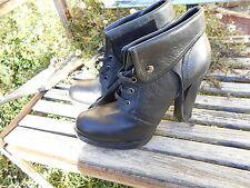 chaussures BATA TTBE talons 12 cms FETISH SEXY NOIRES TTBE 19€ ACH IMM ! FP COMP