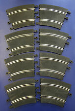 Vintage Tri-ang SCALEXTRIC Classic Track PT53 R3 Radius 3 Outer Curves (x8)