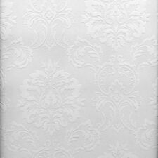 Easy Textures Damask Paintable Wallpaper by Brewster   P32808