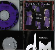DEPECHE MODE Songs Of Faith&Devotion JAPAN CD w/10-p BOOKLET ALCB-740 Alfa