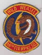Wartime 66th Fighter Squadron Wild Weasel Patch