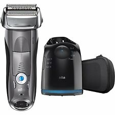 Braun Series 7 7865cc Wet & Dry Electric Shaver for Men with Clean & Charge