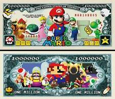 SUPER  MARIO  . Million Dollar USA . Billet de commémoration / Collection