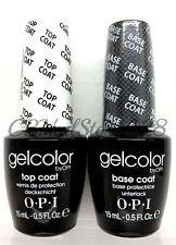 Soak-Off Gelcolor - BASE + TOP COAT opi .5oz COMBO