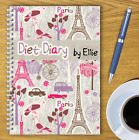 PERSONALISED A5 DIET DIARY, WEIGHT LOSS & FOOD TRACKER, DIETING, SLIMMING LOG 05