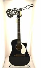 #4078 Fender Sonran SCE Black Acoustic Guitar Player Project U-Fix Level 4 DIY