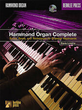 Hammond Organ Complete Learn to Play Rock Jazz Band Sheet Music Book