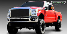 2011 2012 2013 2014 FORD F250 350 SUPER DUTY 1PC BLACK BILLET GRILLE GRILL T-REX