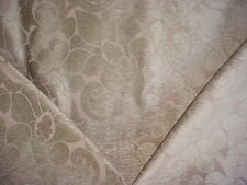 1+Y ROMO ROSEMOOR STONE ARABESQUE FLORAL SCROLL CHENILLE UPHOLSTERY FABRIC